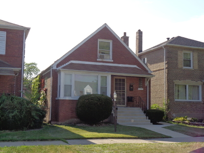 Chicago Single Family Home New: 10614 South Peoria Street