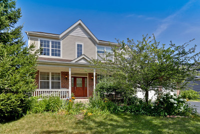 Wauconda Single Family Home For Sale: 2358 Bluewater Drive