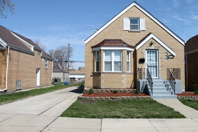 Chicago Single Family Home New: 3814 West 84th Street