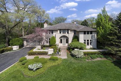 Glencoe Single Family Home For Sale: 1025 Bluff Road