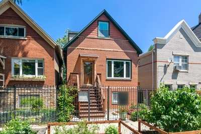 Chicago Single Family Home New: 2526 West Haddon Avenue