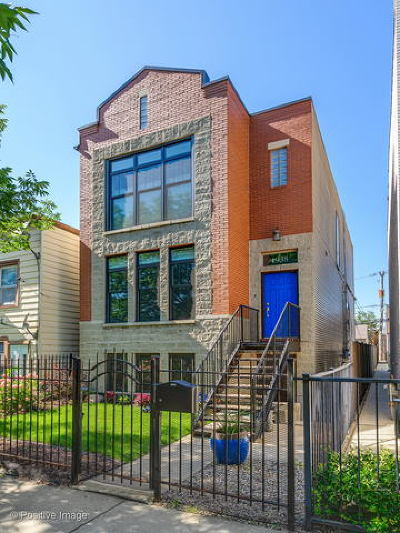 Chicago Single Family Home New: 1938 West Huron Street