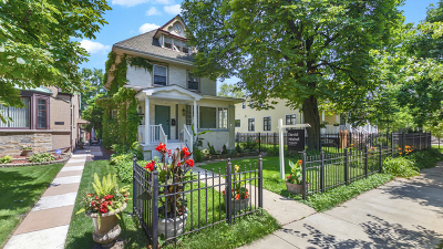 Chicago Single Family Home New: 3709 North Keeler Avenue