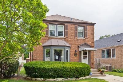 Elmwood Park Single Family Home Price Change: 3019 North 79th Avenue