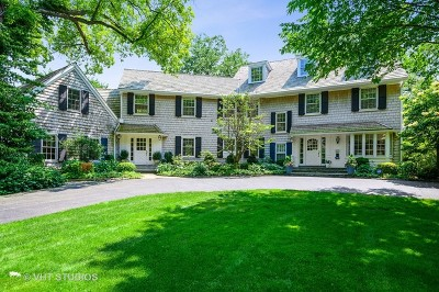 Winnetka Single Family Home For Sale: 44 Indian Hill Road