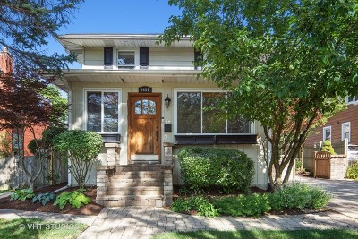 Downers Grove Single Family Home For Sale: 4805 Stanley Avenue