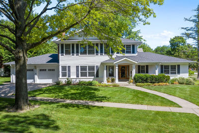 Glen Ellyn Single Family Home New: 722 Revere Road