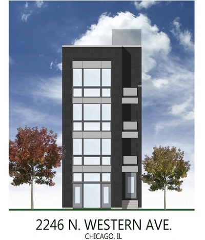 Chicago Residential Lots & Land New: 2246 North Western Avenue