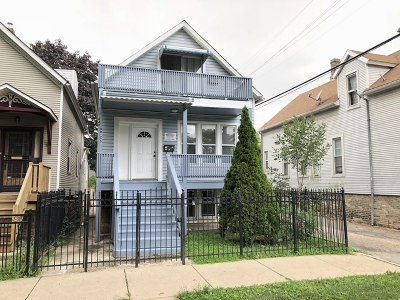 Cook County Single Family Home New: 1840 North Drake Avenue