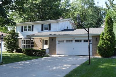 Wood Dale Single Family Home For Sale: 339 Hiawatha Trail
