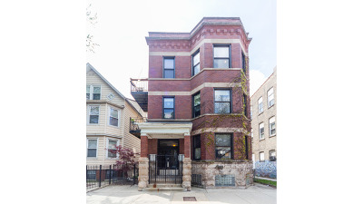 Condo/Townhouse For Sale: 1949 West Roscoe Street #1C