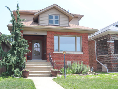 Cook County Single Family Home New: 908 North Ridgeland Avenue