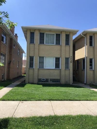 Cook County Single Family Home New: 7739 West Addison Street