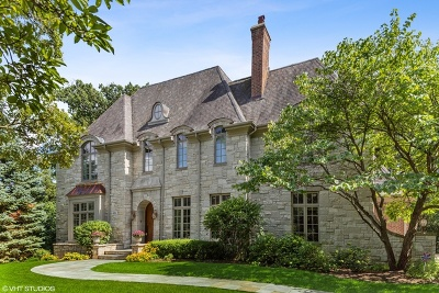 Hinsdale IL Single Family Home For Sale: $1,700,000