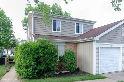 Hoffman Estates Condo/Townhouse For Sale: 1992 Raleigh Place