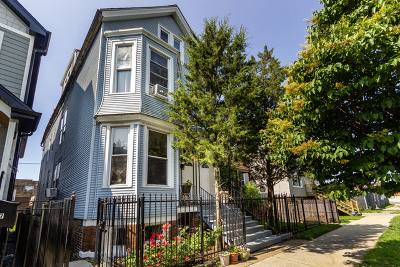 Chicago Multi Family Home New: 2339 West Barry Avenue