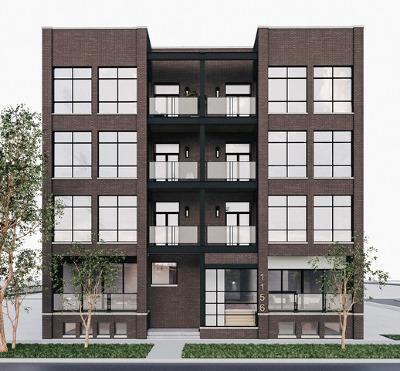 Condo/Townhouse New: 1156 West Ohio Street #2E