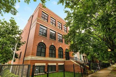 Chicago Condo/Townhouse New: 5486 South Woodlawn Avenue #2