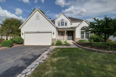 Plainfield Single Family Home New: 2124 Wesmere Lakes Drive