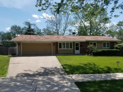 Hoffman Estates Single Family Home New: 485 Bode Road