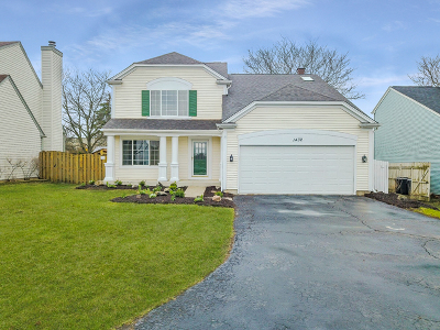 Bartlett Single Family Home New: 1432 Snow Drift Circle