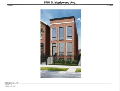 Chicago Residential Lots & Land New: 5754 South Maplewood Avenue