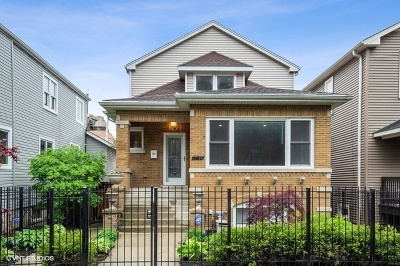 Chicago Single Family Home New: 1754 West Thorndale Avenue