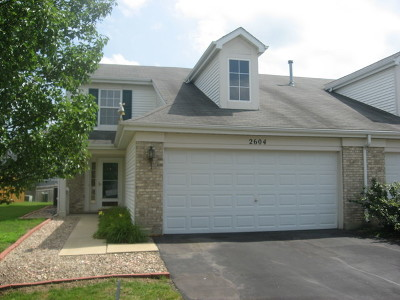 Joliet Condo/Townhouse New: 2604 Sumac Drive