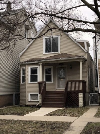 Chicago Single Family Home New: 2435 West Berteau Avenue