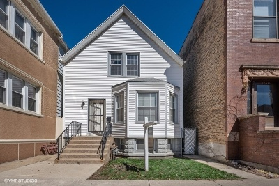 Chicago Multi Family Home New: 1264 West Victoria Street