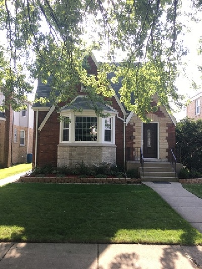 Chicago Single Family Home New: 3308 North Newcastle Avenue