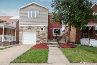 Chicago IL Single Family Home New: $224,000