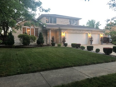Hickory Hills Single Family Home For Sale: 7814 West 92nd Street