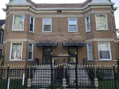 Chicago Multi Family Home New: 849 North Parkside Avenue