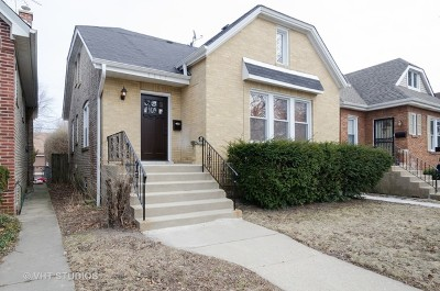 Chicago Single Family Home New: 6617 North Whipple Street