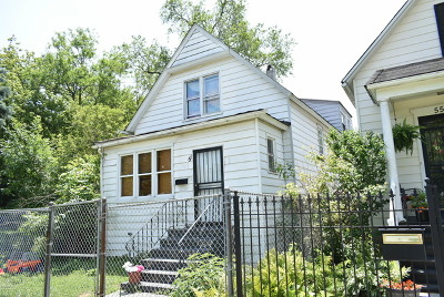 Chicago Single Family Home New: 51 West 109th Place