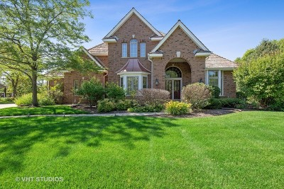 Libertyville Single Family Home New: 14615 South Somerset Circle