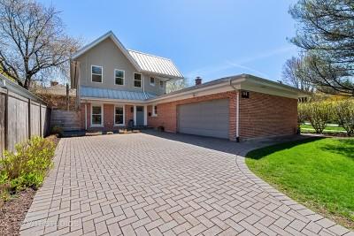 Wilmette Single Family Home For Sale: 1148 Illinois Road