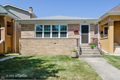 Chicago Single Family Home New: 6344 North Merrimac Avenue