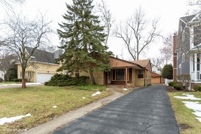 Hinsdale Single Family Home For Sale: 326 North County Line Road