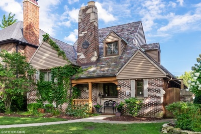 Chicago Single Family Home New: 6151 North Forest Glen Avenue