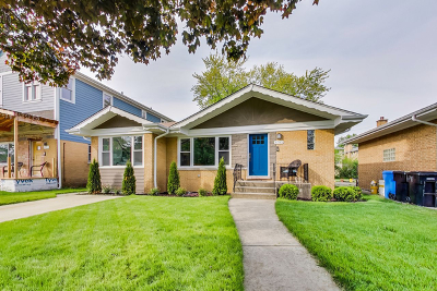 Chicago Single Family Home Contingent: 6785 North Dowagiac Avenue