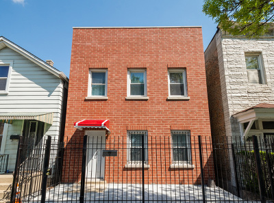 Chicago Multi Family Home New: 1640 West 33rd Street