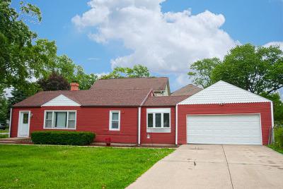 Bensenville Single Family Home Price Change: 222 East Crest Avenue