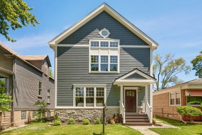 Chicago Single Family Home New: 5517 North Ravenswood Avenue