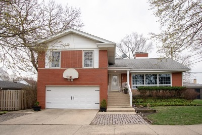 Chicago Single Family Home New: 7255 West Peterson Avenue
