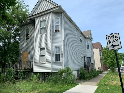 Chicago Multi Family Home New: 6702 South Peoria Street