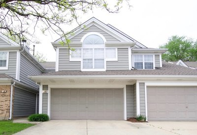 Buffalo Grove Condo/Townhouse New: 186 Woodstone Drive