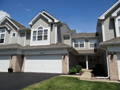 Naperville Condo/Townhouse New: 3824 Capri Court