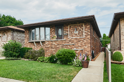 Chicago Single Family Home New: 5609 South Newcastle Avenue